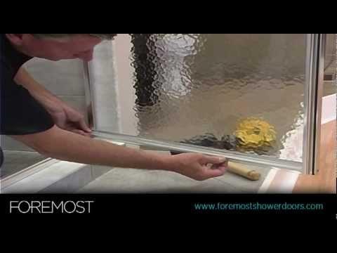 Panel & Door Shower Door Installation