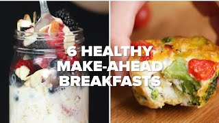 6 Healthy Make-Ahead Breakfasts For Your Busy Life