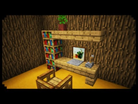 ✔ Minecraft: How to make a Home Office