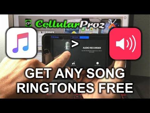 How to get FREE Music Ringtones for your iPhone - No Jailbreak