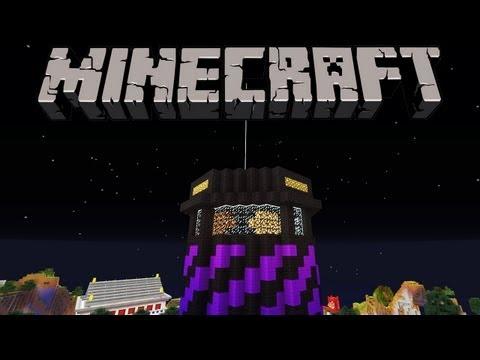 Minecraft: Easy Lighthouse Strobe Redstone Build