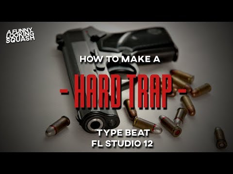 [FL Studio 12 Tutorial] How to make a HARD 808 TRAP type beat
