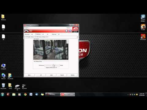 How To Increase Your AMD ATI Graphics Card Performance (AMD Radeon HD)