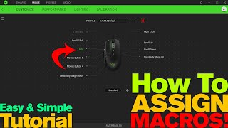 Pictek Gaming Mouse T7 Review | Technical Functions | Software MACRO