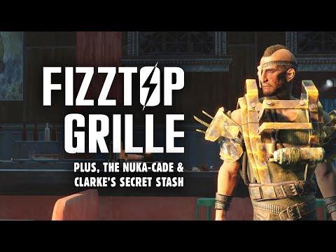 Nuka World Part 3: The Full Rundown at Fizztop Grille - Plus, Nuka-Cade & Clarke's Secret Stash