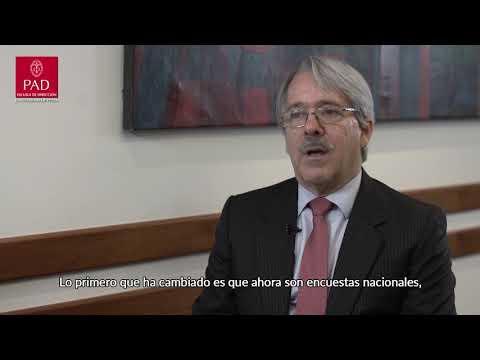 Alfredo Torres: Una vida tomando el pulso a la opinión pública