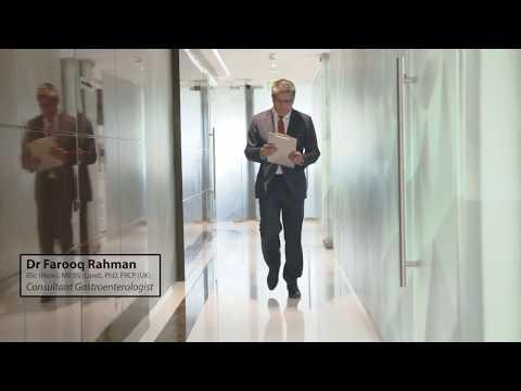 Dr Farooq Rahman - British Consultant Gastroenterologist in Dubai