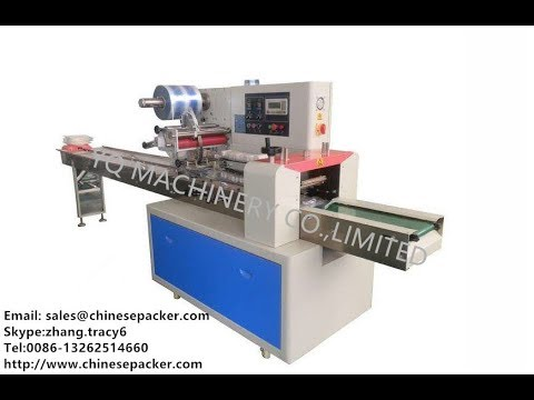 teaching video 1 horizontal wrapping machines for Capsule Tablet Strip ffs packaging machine