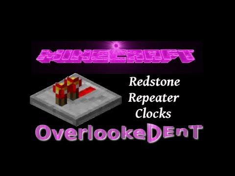 Redstone Repeater Clock - Minecraft Xbox 360/PS3 - [Tutorial]