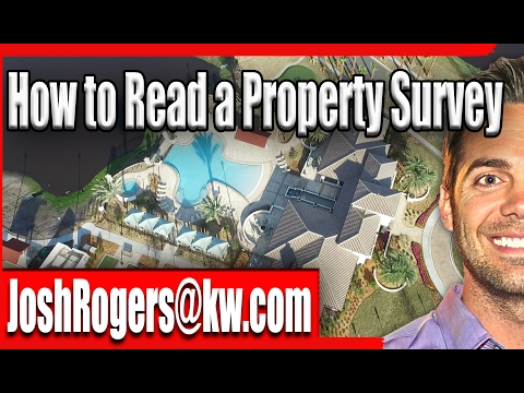 How to read a Property Survey