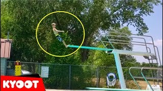 Biggest Belly Flop Ever?! (ouch!) And More Funny Water Fails