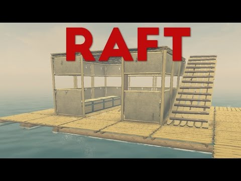 Raft - Storage Chest Update! - Raft Storage Room! - Let's Play Raft Game