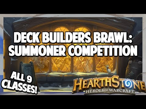 Hearthstone | Deck Builders Brawl | Summoners Competition