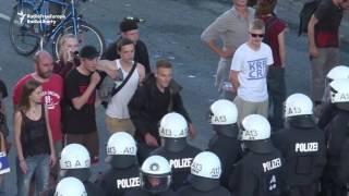 Protests In Hamburg Turn Violent Ahead Of G20 Summit
