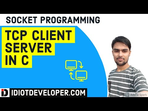 TCP Client  Server Program in C