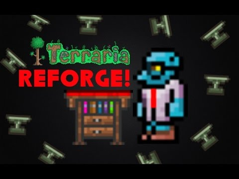 How To Reforge In Terraria 1.2 iOS