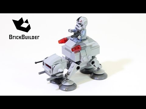 Lego Star Wars 75075 AT-AT - Lego Speed Build