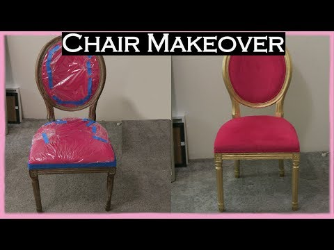 ♕ Chair Makeover | From a Chair into a Throne ♕