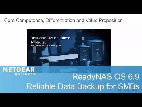 ReadyNAS OS 6.9: Reliable Data Backup | Business