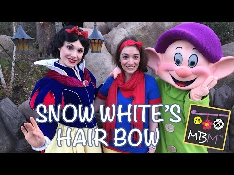 How to Make Snow White's Hair Bow | Disney Side