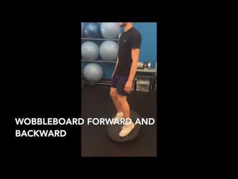 Broken Leg Rehab Programme resub