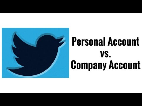 Should I use my company twitter handle vs personal account when recruiting on twitter?