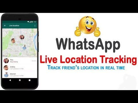 WhatsApp Live Location Sharing & Tracking Feature 2017 | WhatsApp Latest Features in Hindi