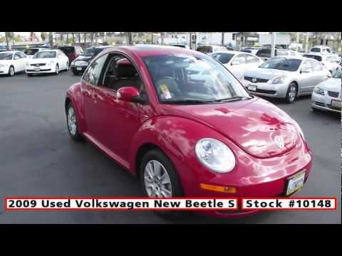 2009 Used Volkswagen New Beetle S For Sale in San Diego at Classic Chariots #10148