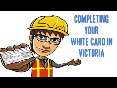 White Card Victoria: Everything You Need to Know