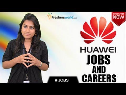 HUAWEI Recruitment Notification 2018 -  Telecommunication, Mobile,IT Jobs, Walkin, Career