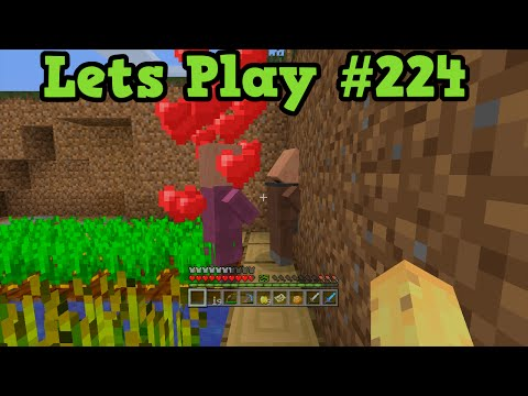 Minecraft Xbox 360 TU23 #224 - Making A Village - Converting Zombies