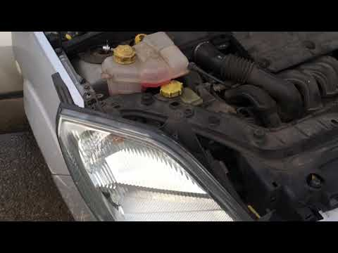 Head light replacing ford Fiesta  flame