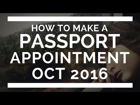 How to Make a Passport Appointment Online Philippines (Oct 2016)