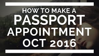 How To Make A Passport Appointment Online Philippines Oct 2016
