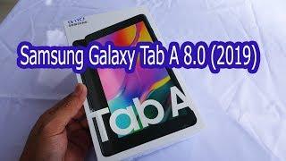 Samsung Galaxy Tab A 80 2019 Black Color Unboxing SM T295