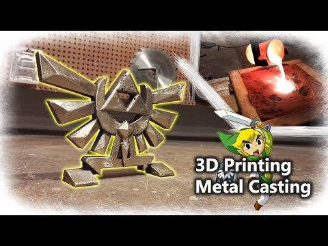 Casting Brass Triforce BLACK Friday Edition (Nintendo´s The Legend of Zelda)