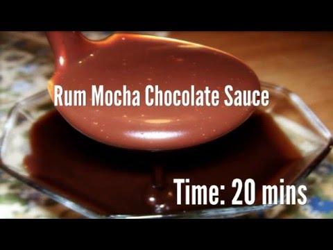 Rum Mocha Chocolate Sauce Recipe