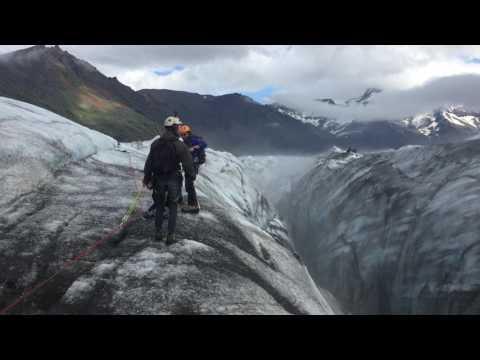 Glacier Walk, Skaftafell 2017