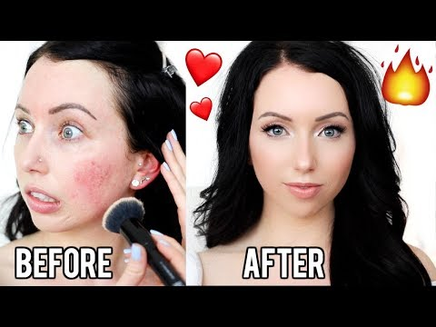 FIRST DATE MAKEUP! ❤️ Simple & Glowy Full Face Makeup Look