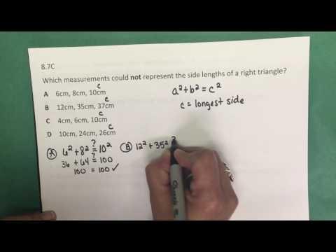 8.7C Pythagorean Theorem & its Converse - Part II