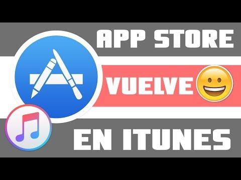 Como Regresar  App Store a Itunes :  la tienda de aplicaciones Esta de regreso