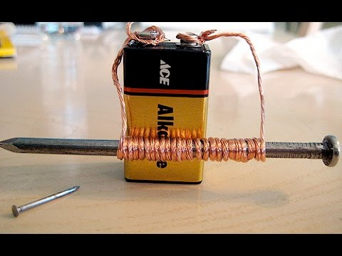 how to make an electromagnet at home