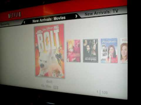 NETFLIX instant streaming disc for PS3