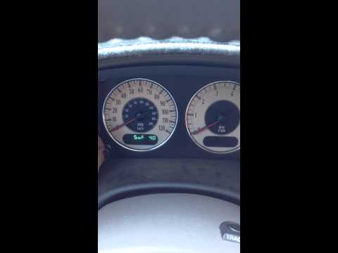 How to fix your speedometer on a Chrysler Town n Country