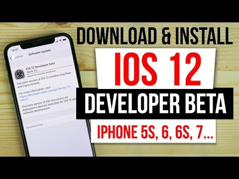 Install IOS 12 iPhone 5s, 6, 6s, 7, 8, X No UDID No Computer/PC + Download Link