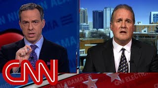 Jake Tapper leaves Roy Moore spokesman speechless