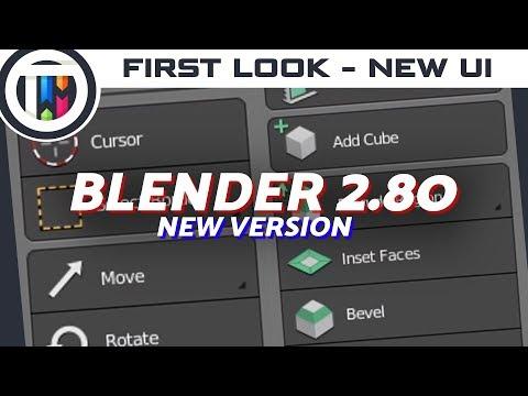 Blender 2.80 - First Impressions!