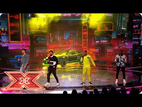 Rak-Su bring I'm Feeling You to the Live stage | Live Shows | The X Factor 2017
