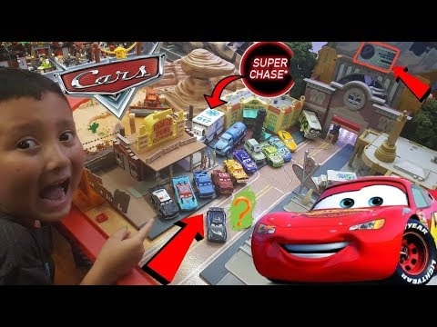 FREE CARS FOR YOU! Opening A NEW BOX of CARS 3 TOYS! SUPER CHASE, PLAYSETS & NEW 2nd Review Station!