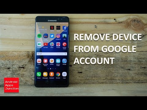 How to remove old devices from google account